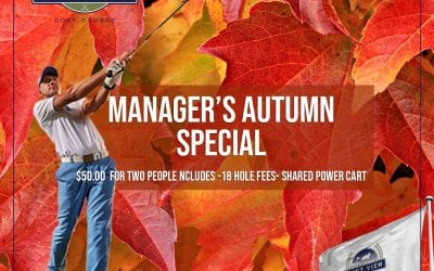 Manager's Autumn Special